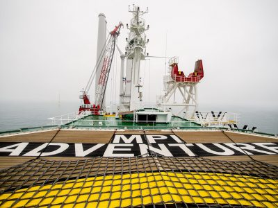 Installation vessel MPI Adventure