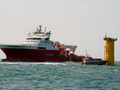 Cable laying vessel, Fugro Symphony