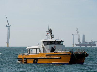 Windcat 19 crew transfer vessel