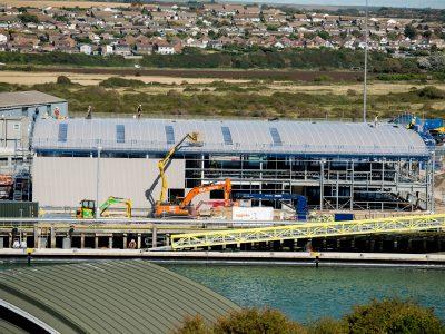 New O&M base under construction